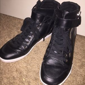 Black Wedged Sneakers! (Mix no. 6)